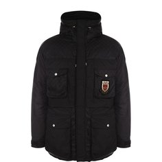 Куртки Gucci Утепленная куртка на молнии с капюшоном Gucci