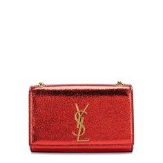 Клатчи и вечерние сумки Saint Laurent Сумка Monogram Kate small из металлизированной кожи Saint Laurent