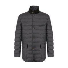 Куртки Loro Piana Куртка из смеси шерсти и шелка Loro Piana