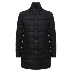 Куртки Moncler Шерстяной пуховик Keid на пуговицах с воротником-стойкой Moncler