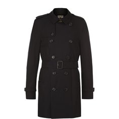 Пальто и плащи Burberry Хлопковый тренч Sandringham Burberry