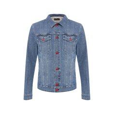Куртки Kiton Джинсовая куртка Kiton