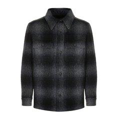 Куртки Brioni Шерстяная куртка в клетку на пуговицах Brioni