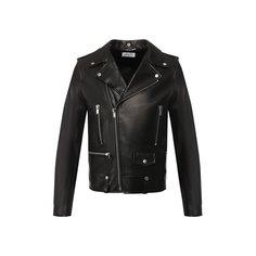 Куртки Saint Laurent Кожаная косуха Saint Laurent