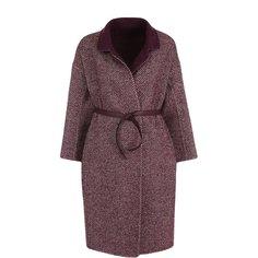 Пальто и плащи Loro Piana Шерстяное пальто с поясом Loro Piana
