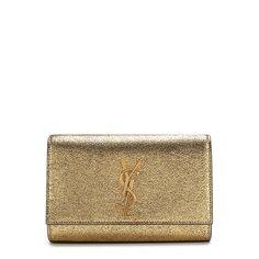 Женские сумки Saint Laurent Сумка Monogram Kate small из металлизированной кожи Saint Laurent