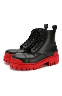 Кожаные ботинки 20 мм Strike Balenciaga