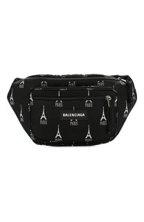 Текстильная поясная сумка Balenciaga