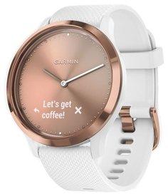 Умные часы Garmin vivomove HR Sport (розовое золото)