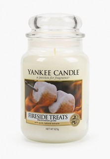 Свеча ароматическая Yankee Candle Жареный мармелад Fireside treats 623 гр / 110-150 часов