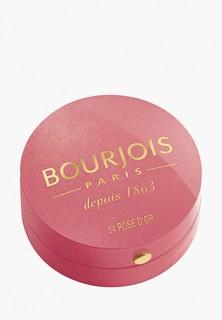 Румяна Bourjois Blusher Тон 34 rose d`or