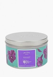 Свеча ароматическая Wax Lyrical Цветущая фиалка, 25 часов горения