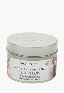 Свеча ароматическая Wax Lyrical Вишня, 20 часов горения