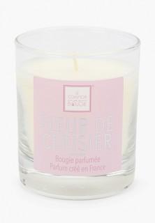 "Свеча ароматическая Arome Le Comptoir De Paris ""FLEUR DE CERISIER"" (Цветы вишни), 190 (гр)."