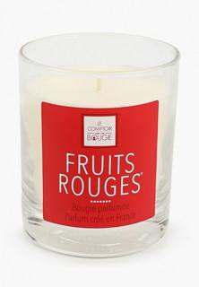 """Свеча ароматическая Arome Le Comptoir De Paris """"FRUITS ROUGES"""" (Красные фрукты), 190 (гр)."""