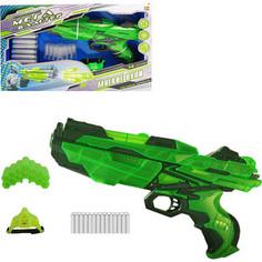 Игрушечное оружие Abtoys Мегабластер, в наборе с 14 мягкими снарядами и аксессуарами, на батарейках (PT-00806)