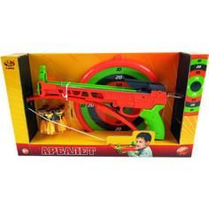 Игрушечное оружие Abtoys Арбалет со снарядами на присосках (S-00062)