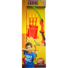 Игрушечное оружие Abtoys Лук со стрелами на присосках (S-00061)