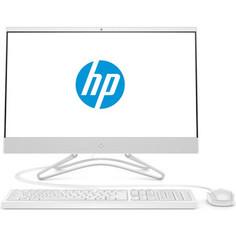 Моноблок HP 22-c0010ur white (Pen J5005/4Gb/500Gb/DVD-RW/VGA int/DOS) (4HE00EA)