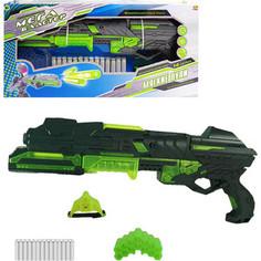 Игрушечное оружие Abtoys Мегабластер, в наборе с 14 мягкими снарядами и аксессуарами, на батарейках (PT-00807)