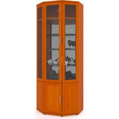 Шкаф сервант Мебельный двор ШК-11 вишня