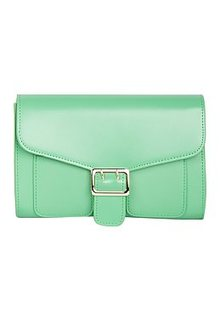 Зеленая сумка-клатч La Reine Blanche