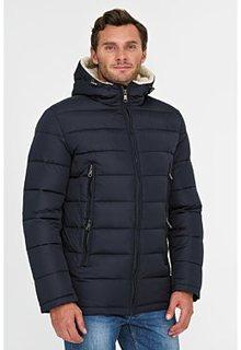 Стеганая куртка с отделкой меховой тканью Urban Fashion for men