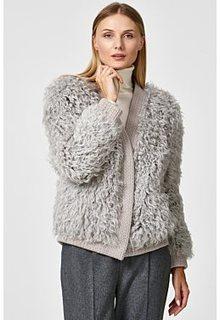 Вязаный жакет из овчины Virtuale Fur Collection