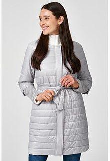 Утепленная куртка с отделкой трикотажем Acasta
