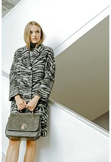 Фактурное пальто Снежная Королева