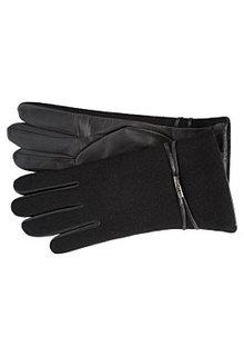 Перчатки из кожи и текстиля Fabretti