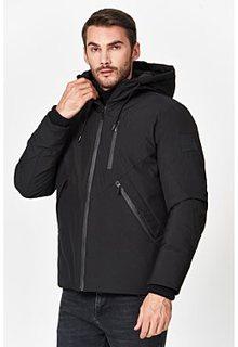 Утепленная куртка с капюшоном Urban Fashion for men
