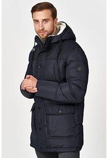 Утепленная куртка с отделкой меховой тканью Jorg Weber
