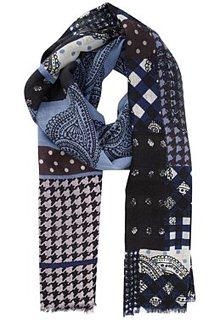 Шерстяной шарф Fabretti