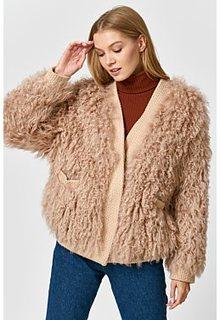 Облегченный жакет из овчины Virtuale Fur Collection