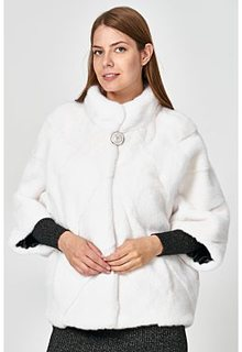 Укороченная норковая шуба Empire of Fur