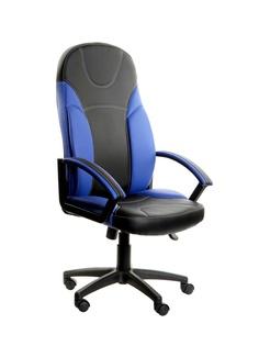 Компьютерное кресло TetChair Twister искусственная кожа Black-Blue 3498