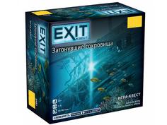 Настольная игра Zvezda Exit Квест Затонувшие сокровища 8983 ЗВЕЗДА