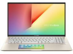 Ноутбук ASUS VivoBook S532FL-BQ042T 90NB0MJ1-M00710 (Intel Core i5-8265U 1.6GHz/8192Mb/256Gb SSD/nVidia GeForce MX250 2048Mb/Wi-Fi/Bluetooth/Cam/15.6/1920x1080/Windows 10 64-bit)