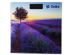 Весы напольные Delta D-9302 Лавандовое поле Дельта