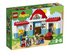 Конструктор Lego Duplo Конюшня на ферме 10868