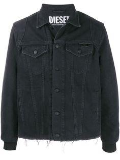 Diesel джинсовая куртка с логотипом