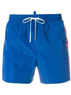 Dsquared2 шорты для плавания с логотипом бренда