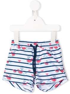 Sunuva Kids плавки-шорты с принтом