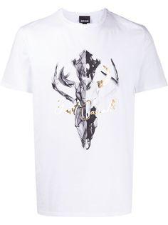 Just Cavalli футболка с принтом Skull