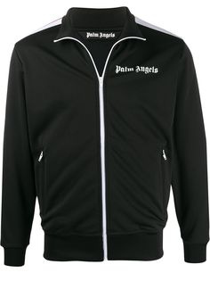 Palm Angels спортивная куртка с контрастными полосками