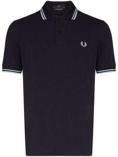 Fred Perry рубашка-поло Twin с логотипом