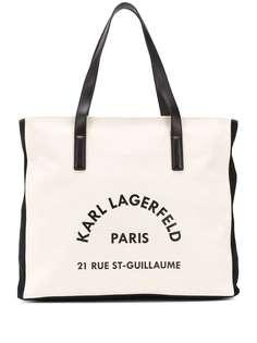 Karl Lagerfeld пляжная сумка K/Rue Lagerfeld