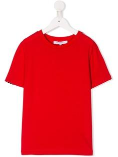Givenchy Kids однотонная футболка
