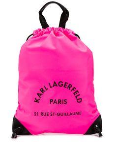 Karl Lagerfeld рюкзак Rue St Guillaume на шнурке